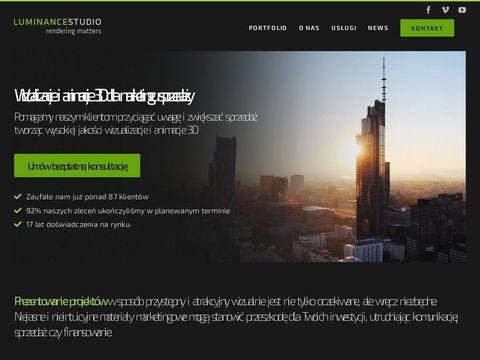 luminance studio - Fotorealistyczne wizualizacje architektoniczne