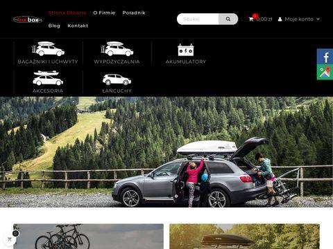 Luxbox - bagażniki samochodowe - dachowe, boxy dac