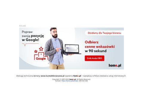 Luxmeblerzeszow.pl