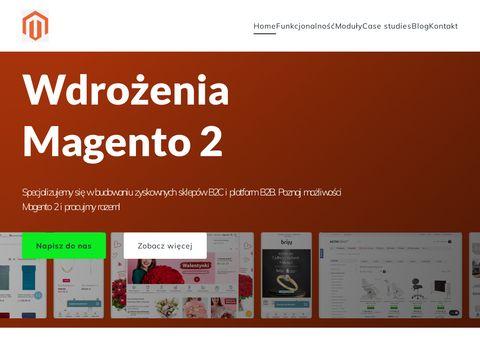 Magento 2 - wdrożenia, rozwój i migracje! - poznaj możliwości Magento 2!