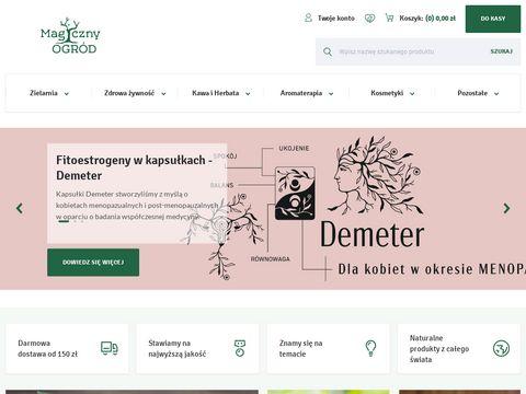 Magicznyogrod.pl -sklep etnobotaniczny