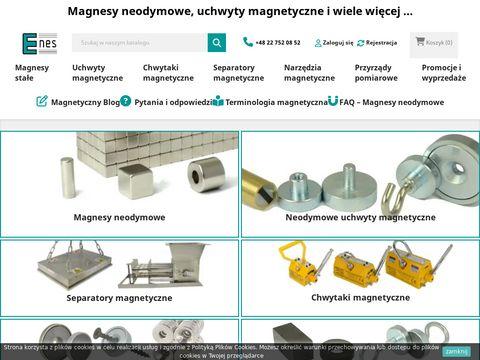 Magnesy neodymowe, magnes neodymowy SKLEP