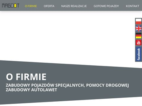 Magoot.pl | Zabudowy pojazd贸w ci臋偶arowych