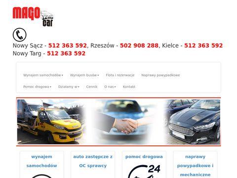 Mago Rent a Car - wynajem samochodów Rzeszów