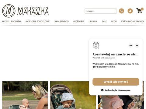 Makaszka.pl Kocyki Minky