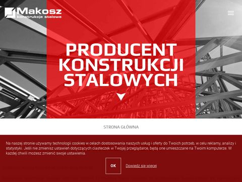 Hale stalowe - www.makosz.com.pl