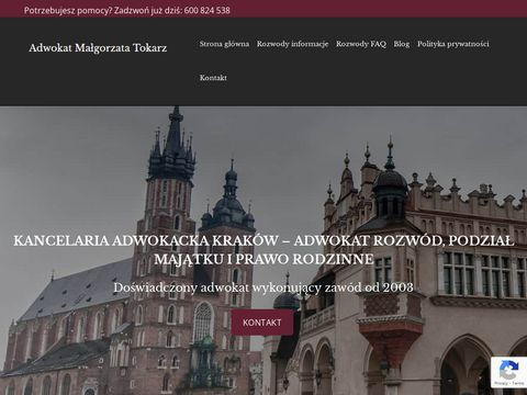 Adwokat Krak贸w - www.malgorzatatokarz.pl