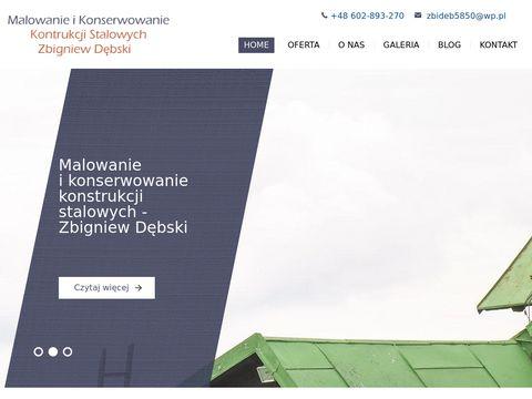 Malowanie i mycie dachów Katowice