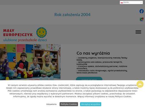 Przedszkole językowe MA�Y EUROPEJCZYK w mieście Warszawa oferujące najlepszy program edukacyjny.
