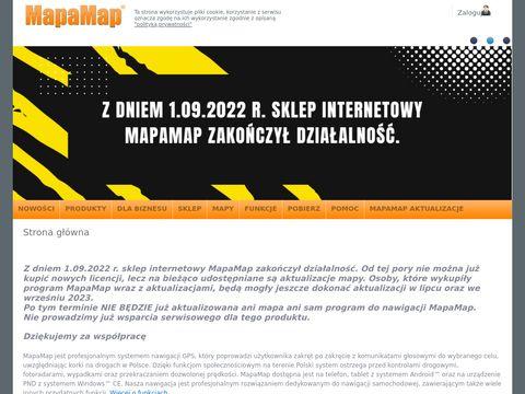 Serwis internetowy systemu nawigacyjnego