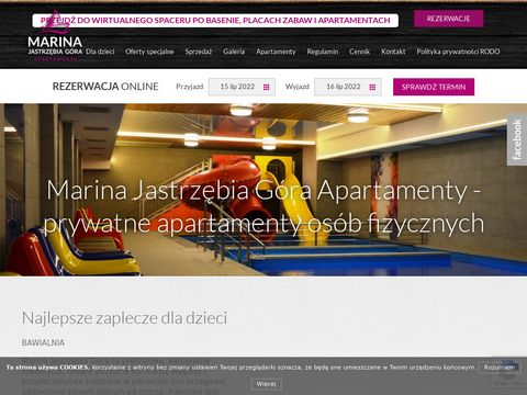 Wynajem apartamentów Jastrzębia Góra