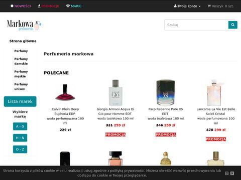 Markowaperfumeria.pl perfum w perfumerii internetowej