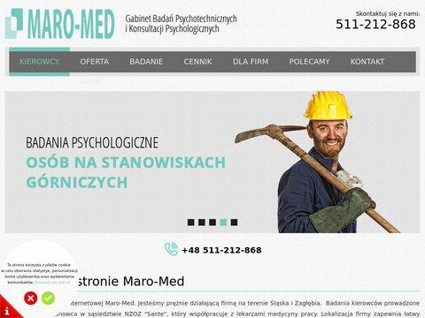 Maro-Med Badania Psychologiczne Kierowc贸w