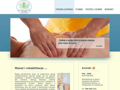 Rehabilitacja i masaż w Radomsku