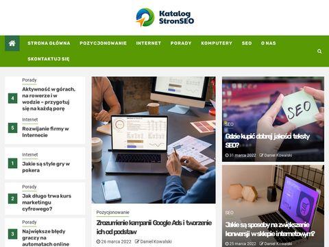 Katalog stron MasterWeb