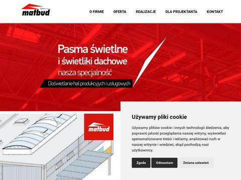 Www.matbud.com 艢wietliki dachowe