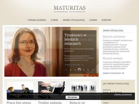 Maturitas.pl psycholog warszawa