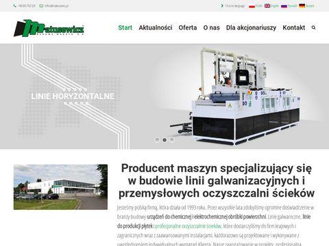 Www.matusewicz.pl budowa galwanizerni
