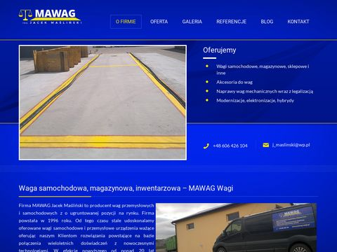 Www.mawag-wagi.pl