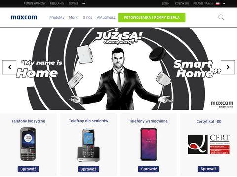 Maxcom - telefony dla seniorów i nie tylko