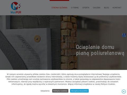 Maxpur.com.pl Pianka PUR Bielsko-Biała