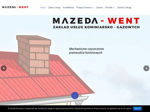 MAZEDA-WENT us艂ugi kominiarskie olsztyn
