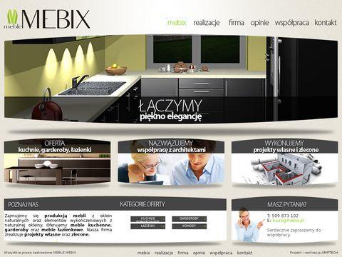 Kuchnie na wymiar - MEBIX.pl - Kraków