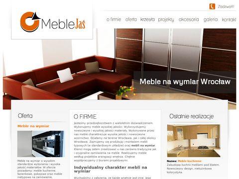 Meble na zamówienie Wrocław - Meble Jaś