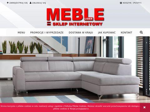 LIDER MEBLE - stoły, krzesła, meble młodzieżowe