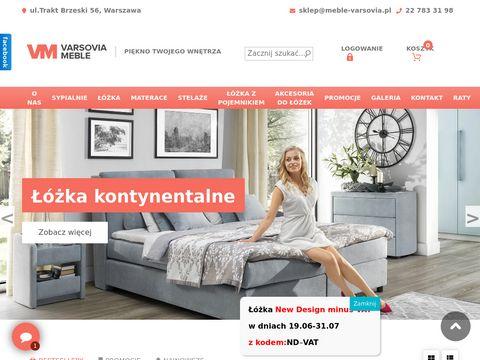 Varsovia łóżko na zamówienie warszawa