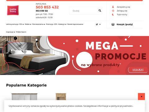Meblefirany.pl - Internetowy sklep meblowy