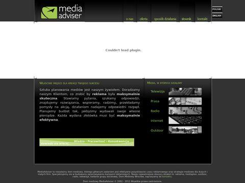 Media Adviser: strategie mediowe, zakup medi贸w, badanie grupy docelowej, analizy marketingowe