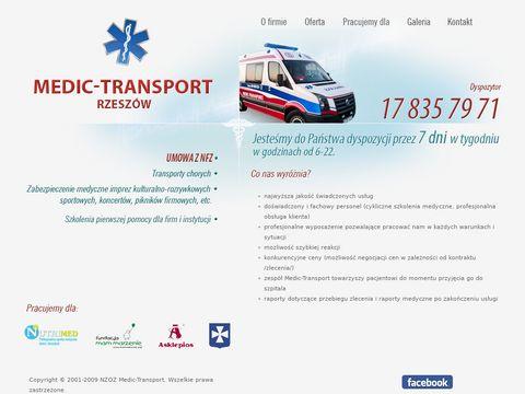 NZOZ MEDIC-TRANSPORT