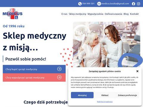Medicus-kostka.pl aparat tlenowy ÅšlÄ…skie