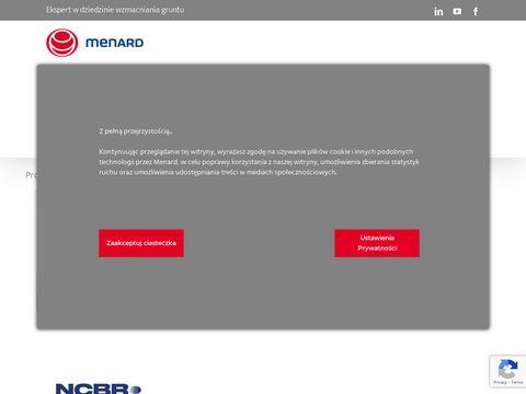 Menard Polska Sp. z o.o. problem geotechniczny