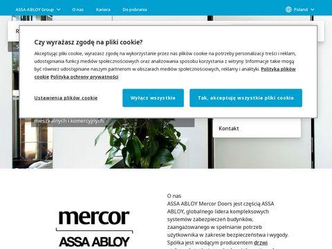 Mercor Doors - drzwi przeciwpożarowe
