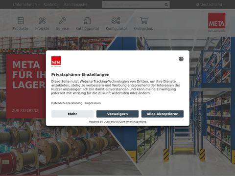 META REGALBAU-POLSKA SP. Z O.O. Kraków producent regałów sklepowych śląsk