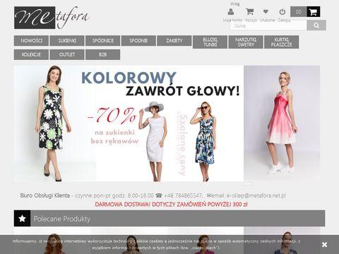 METAFORA płaszcz damski zimowy sklep internetowy