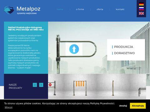 Bramki obrotowe producent   metal-poz.pl