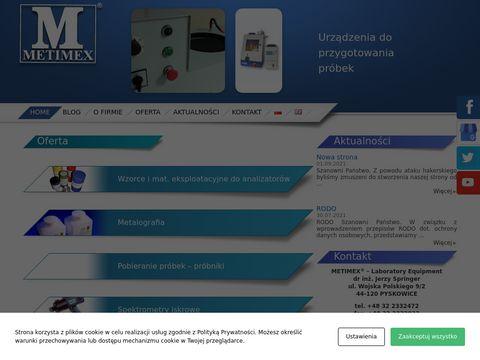 METIMEX materiały do metalografii