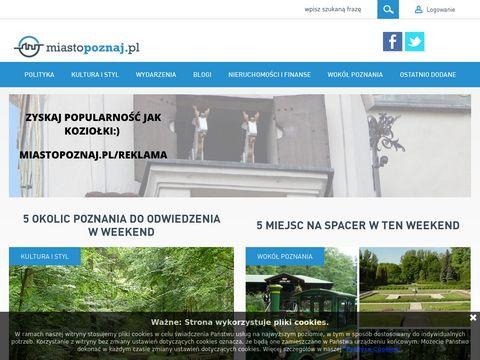 Miastopoznaj.pl - Poznański Portal Internetowy