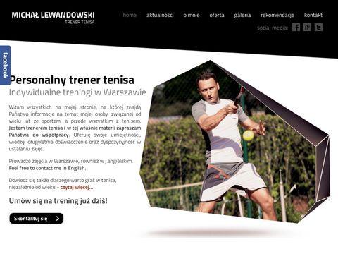Michał Lewandowski   Tenis