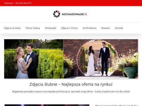 Fotografia ślubna, okolicznościowa - Michał Kowalski
