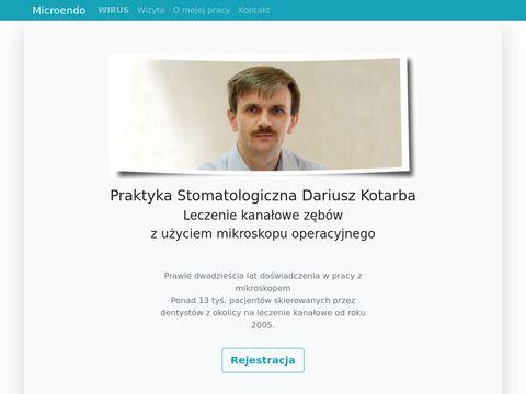 Leczenie kanałowe, ratowanie zagrożonych zębów w Nowym Targu - Dariusz Kotarba