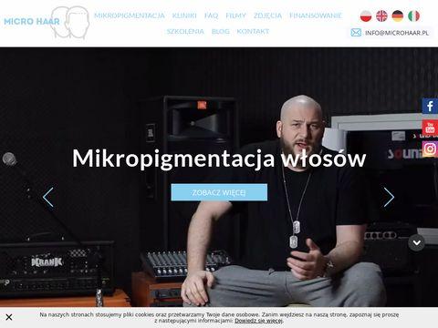 Tatua偶 medyczny - microhaar.pl