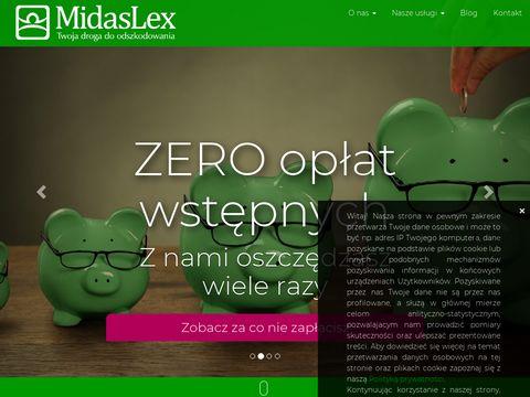 Midaslex odszkodowania 艂贸d藕