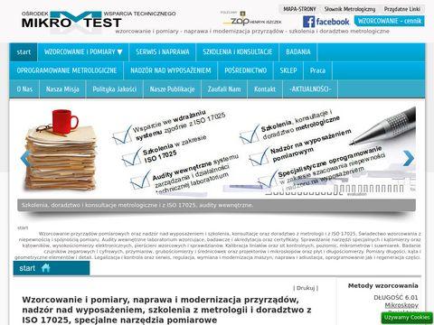 Wzorcowanie, naprawa i nadz贸r nad przyrz膮dami, szkolenia z ISO 17025.
