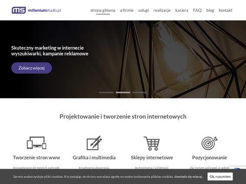 Millenium Studio - tworzenie i projektowanie stron www