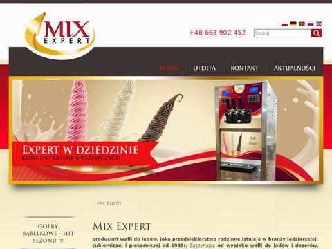 Mixexpert.com.pl - zaopatrzenie lodziarn
