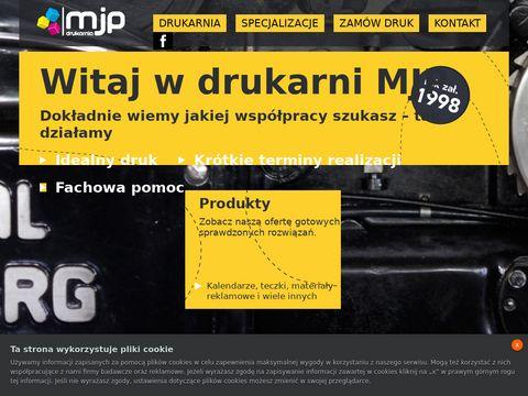 MJP - Drukarnia Offsetowa - Pozna艅 - druk offestow